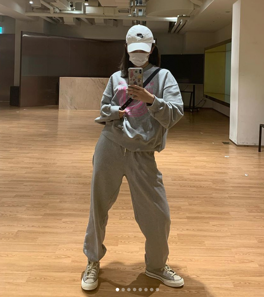 Seulgi Redvelvet | Sweatsuit | korean fashion | The dallant