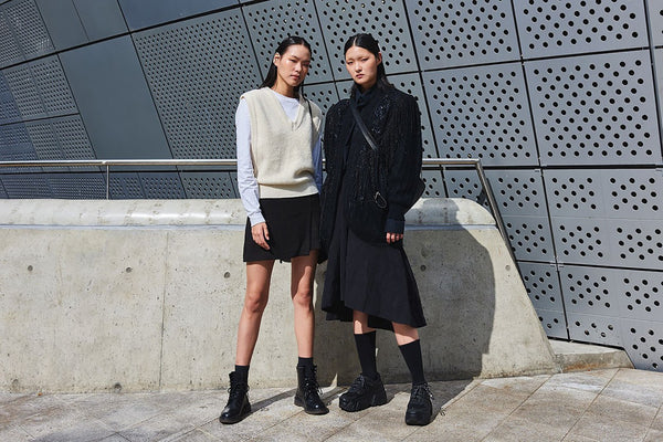 Seoul Fashion Week Street Style Photo of Korean Models by Hypebeast