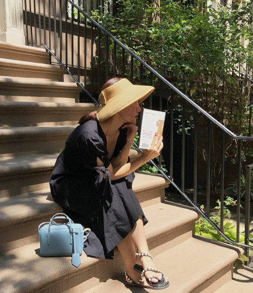yina yina new york   how to utilize bags into outfits   The Dallant   Korean fashion designers