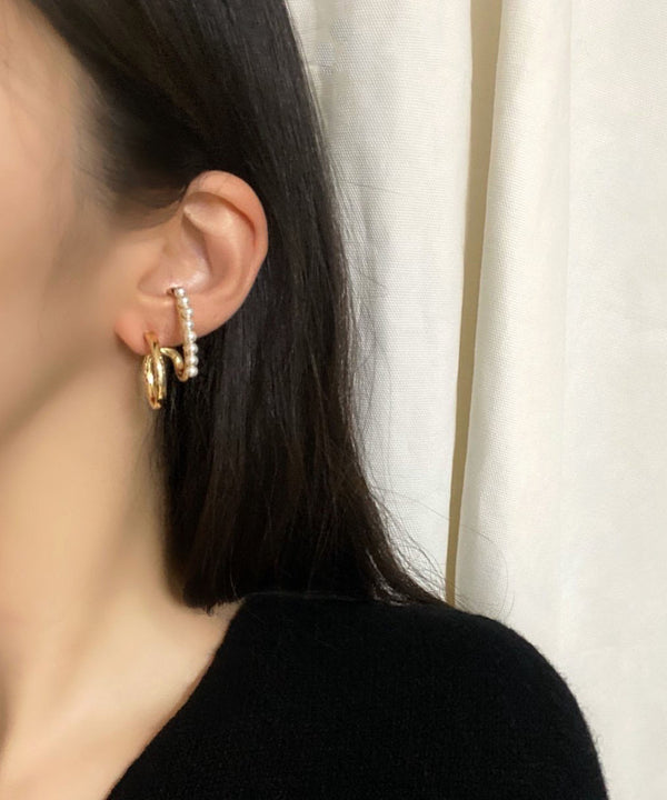 Faux pearl ear cuff - The Dallant