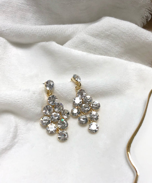 Sparkly jewel earrings - The Dallant