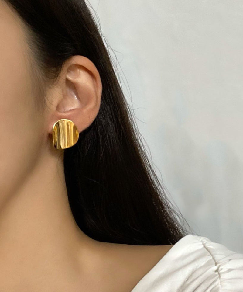 Two-way plates earrings - The Dallant