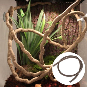 Artificial Vine Reptile  Decoration Lizard