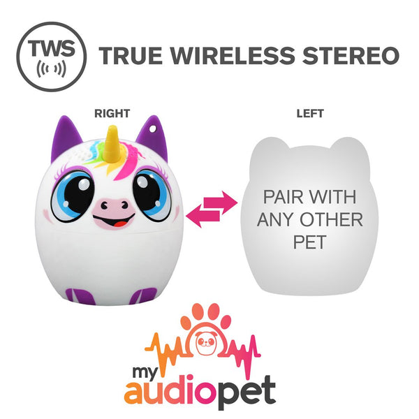 My Audio Pet UniChord Wireless Bluetooth Speaker with True Wireless Stereo Pair with any other MyAudioPet
