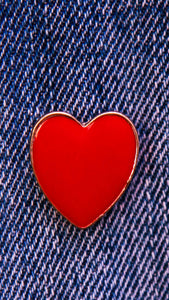 Pin's Coeur Rouge