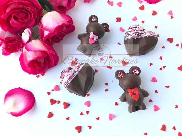 Valentines Day Hot Cocoa Bombs Valentines Hot Chocolate Bombs Valentines Party Favors Hot Chocolate Gifts