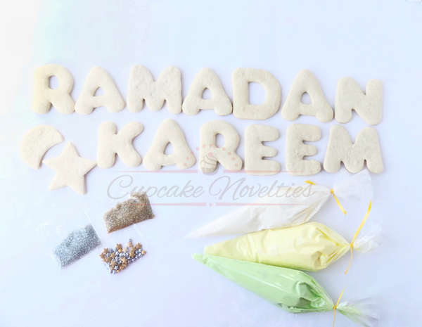 Ramadan Cookies Eid Cookies Eid Gifts Ramadan Cookie Decorating Eid Cookie Decorating Kit Eid Decor