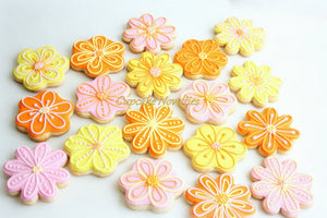 Fairy Birthday Flower Birthday Floral Birthday Party Spring Birthday Spring Baby Shower Favors Flower Cookies Spring Cookies Mothers Day