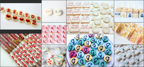 Monogram Cookies Message Cookies Birthday Cookies Birthday Message Cookies Boy Birthday Girl Birthday Chocolate Oreos Birthday Gift Ideas