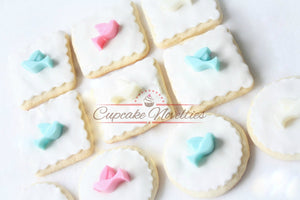 Dove Cookies Bird Cookies First Holy Communion Cookies Christening Cookies Baptism Cookies Baptism Favors Christening Favors Communion Favor