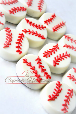 Baseball Birthday Baseball Cookies Baseball Oreos Baseball Party Favors Sports Birthday Sports Cookies Fathers Day Gift Retirement Party