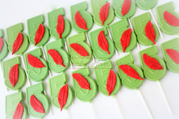 Peter Pan Birthday Peter Pan Baby Shower Peter Pan Cookies Feather Chocolate Pops Peter Pan Party Favors Neverland Birthday Peter Pan Decor
