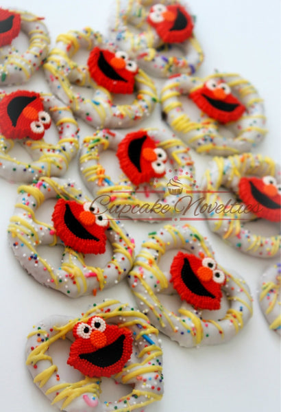 Teacher Gifts Teacher Cookies Sesame Street Birthday Elmo Cookies Elmo Birthday Party Favor Alphabet Party ABC Kindergarten Graduation Idea