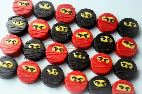 Ninja Birthday Ninja Cookies Martial Arts Birthday Karate Party Karate Birthday Karate Cookies Building Block Ninja Party Favors Martial Art