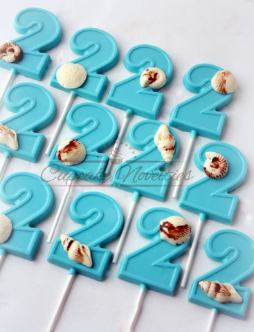 Under the Sea Birthday Under the Sea Baby Shower Mermaid Birthday Seashell Cookies Under the Sea Bridal Shower Ocean Cookie Favors Chocolate