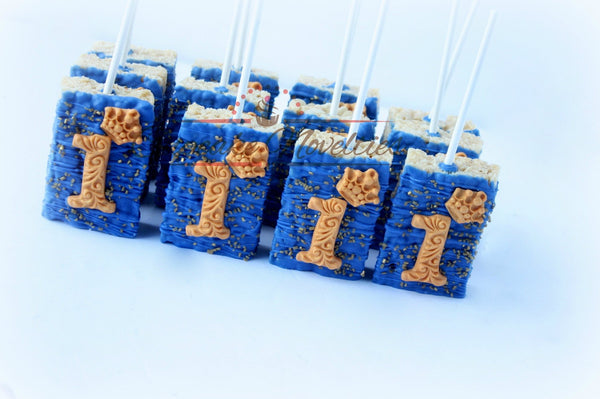 Royal Prince Birthday Royal Prince First Birthday Royal Blue Gold Birthday Favors First Birthday Cookies Royal Blue Gold Cookies Birthday