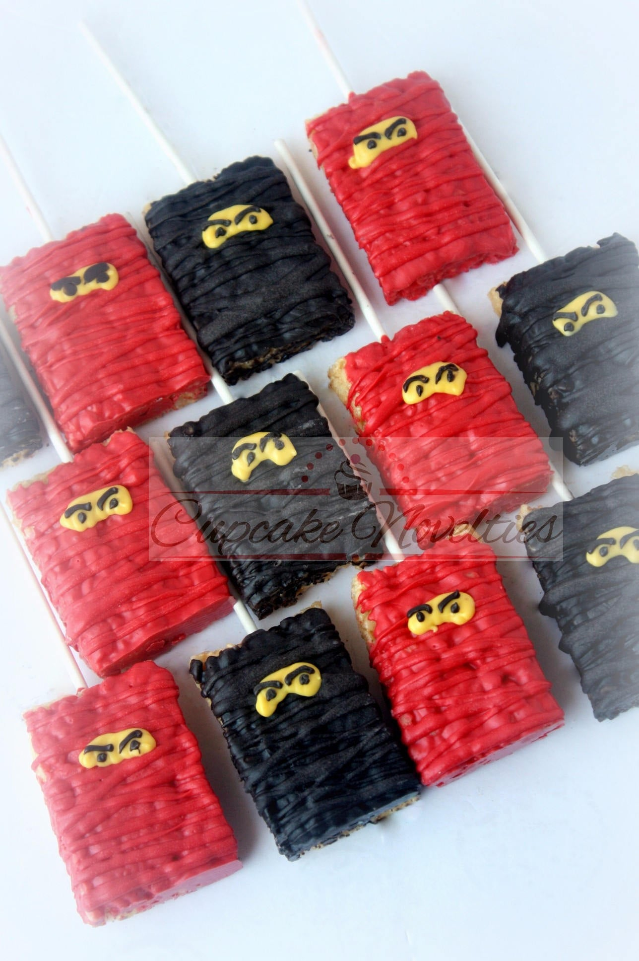 Ninja Birthday Ninja Cookies Martial Arts Birthday Karate Cookies Karate Party Karate Birthday Building Block Ninja Party Favors Martial Art
