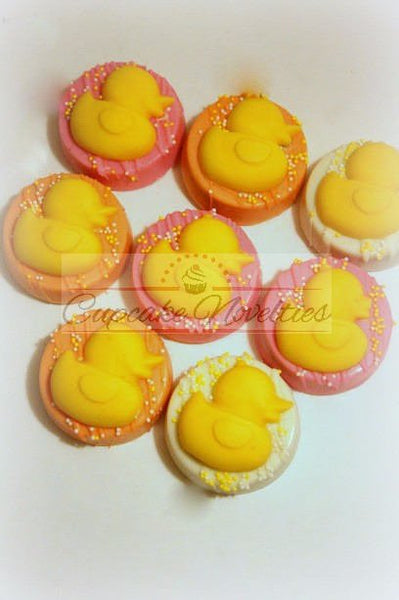 Rubber Duck Baby Shower Rubber Ducky Baby Shower Rubber Gender Neutral Baby Shower Cookie Chocolate Marshmallows Rubber Duck Cookies Favors