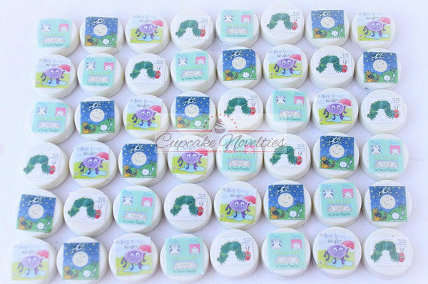 Book Baby Shower Book themed Baby Shower Book Birthday Book Cookies Oreos Classroom Party Nursery Rhyme Baby Shower Storybook Baby Shower