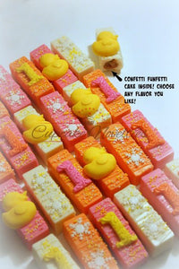 Rubber Duck Baby Shower Rubber Ducky Baby Shower Rubber Gender Neutral Baby Shower Cookies Duck Cake Pops Rubber Duck Cookies Baby Favors