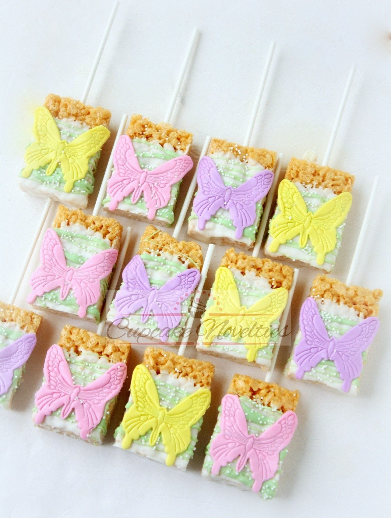 Butterfly Birthday Garden Party Spring Baby Shower Spring Birthday Butterfly Cookies Tea Party Favors Spring Wedding Favors Butterfly Party