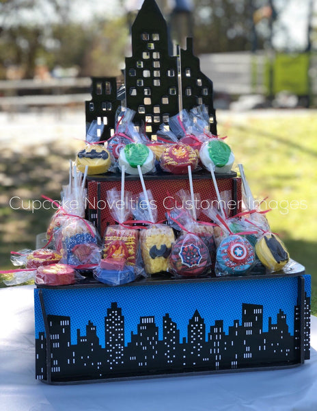 Superhero Birthday Superhero Cookies Super Hero Avengers Birthday Favor Iron Man Birthday Captain America Birthday Batman Spiderman Birthday