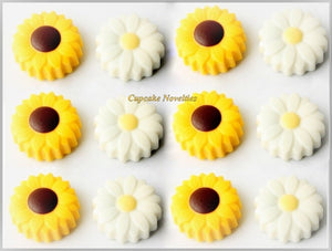 Cowgirl Birthday Party Spring Cookie Daisy Sunflowers Garden Cookies Oreos Sunflower Cookies Daisy Cookies Rustic Wedding Favors Mothers Day