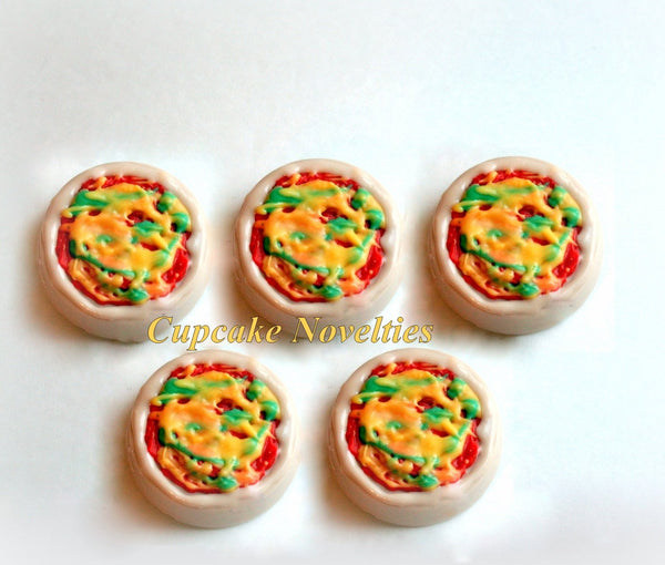 Pizza Party Teenage Mutant Ninja Turtles TMNT Chocolate Oreos Cookies Pops Birthday Party Favors Pizza Cookies TMNT Birthday Cookies Favors