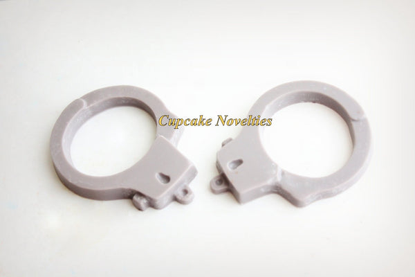 12 Chocolate Handcuffs Candy 50 Shades of Grey Party Favor Police Birthday Police Gifts Police Officer Unique Gifts Cop Birthday Party Favor