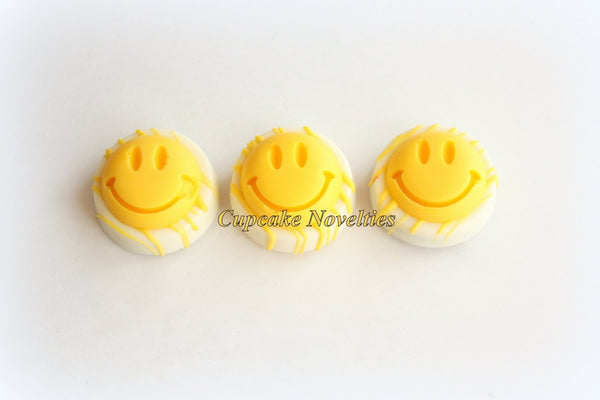 Smiley Face Cookies Chocolate Oreos Smile Cookies Just Because Gift Have A Nice Day Cheerful Gift Get Well Soon Gift Idea Reward Unisex Gift