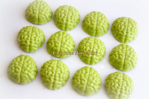 Mad Scientist Genius Birthday Lime Green Chocolate Brains Shaped Oreos Cookies Pops Teacher Appreciation Gifts Classroom Treats Edible Gifts