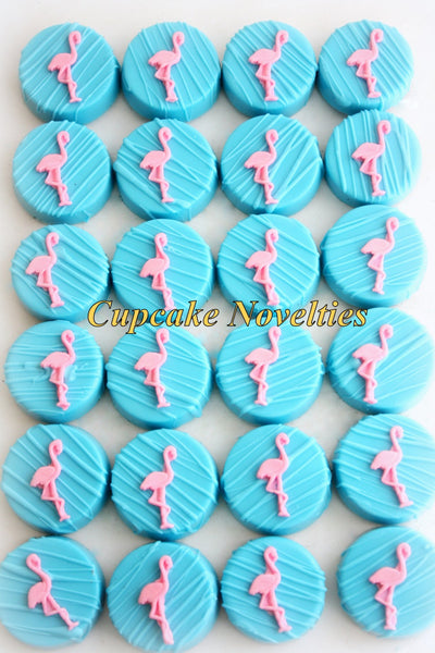 Flamingo Cookies Flamingo Favors Flamingo Chocolate Oreos Pink Flamingo Party Pink Flamingo Birthday Tropical Party Summer Lets Flamingle