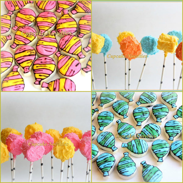 Balloon Party Baby Shower Birthday 12 Rice Krispie Treats Birthday Balloons Graduation Dessert Ideas Graduation Cookies Balloon Cookies