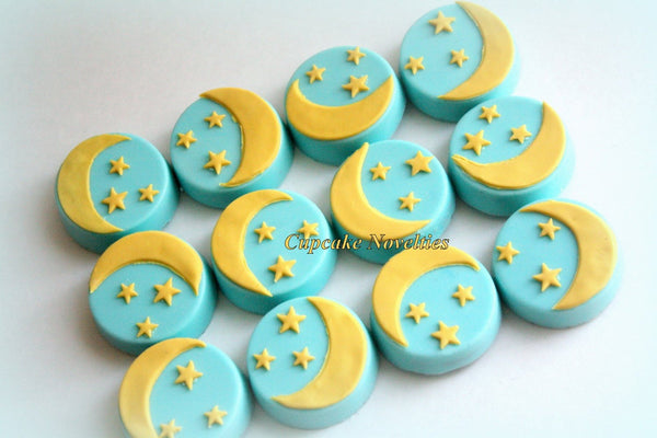 Twinkle Twinkle Little Star Birthday Party Baby Shower Chocolate covered Oreos Cookies Party Favor Classroom Treats Nursery Rhymes Baby Idea