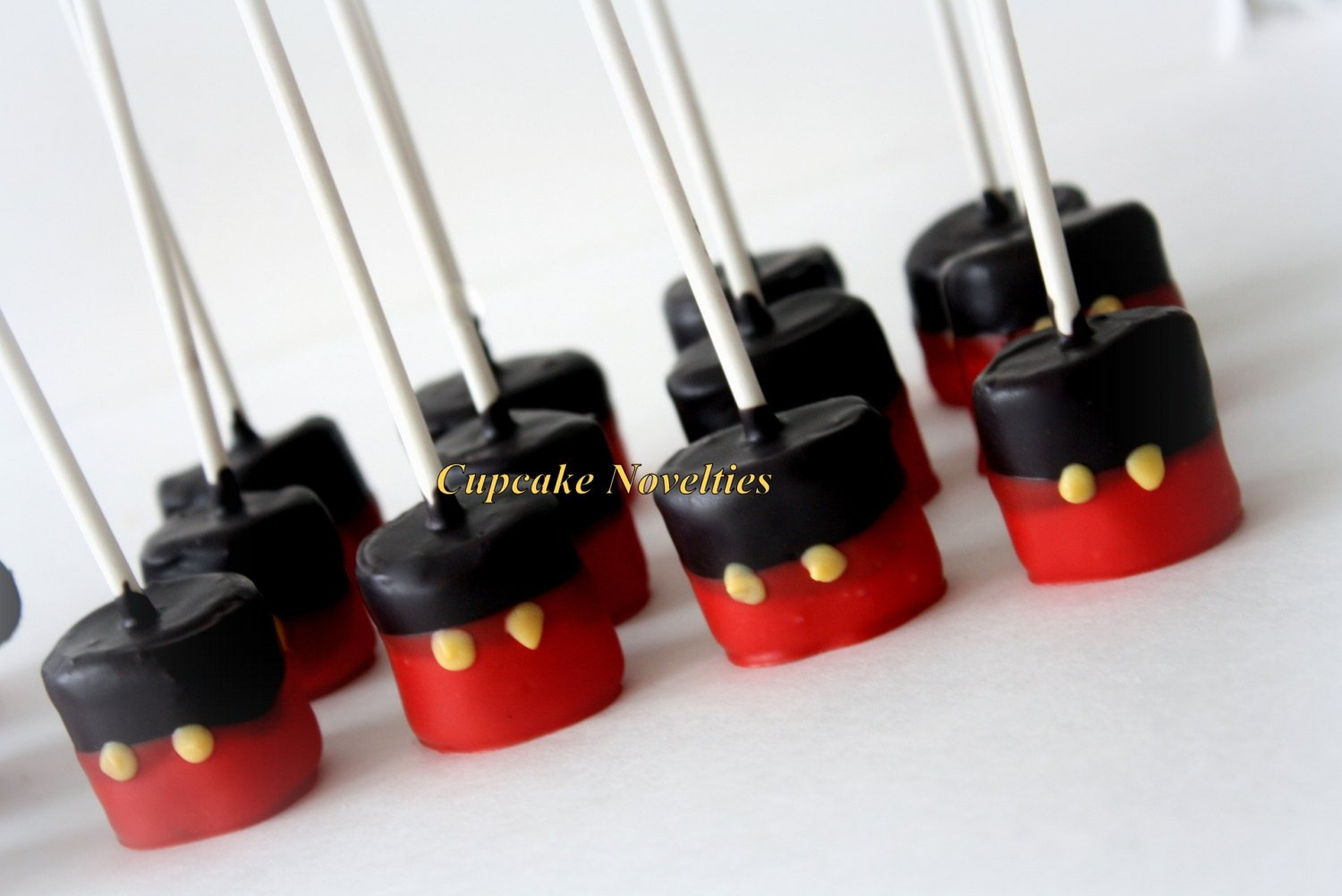 Red Black Yellow Buttons Boy Birthday Party Favors Gourmet Chocolate dipped Marshmallows Boy Birthday Cookies Dessert Table Classroom Treats