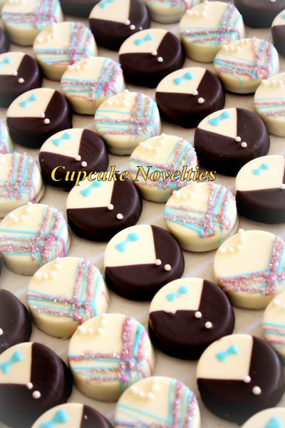 Bride Groom Edible Wedding Favors Chocolate Oreos Cookies Gift Dessert Table Rehearsal Bridal Shower Dessert Ideas Unique Favors Monogram