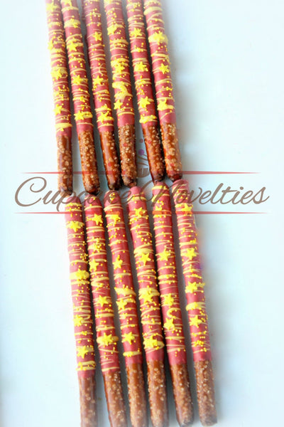 Wonder Woman Birthday Wonder Woman Cookies Super Girl Birthday Supergirl Wonder Woman Baby Shower Wonder Woman Party Favor Chocolate Pretzel