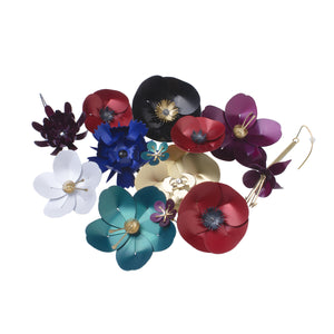 Flower-shaped jewelry