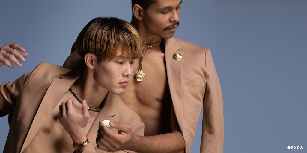 Artistic jewelry ORSKA, new collection BODY