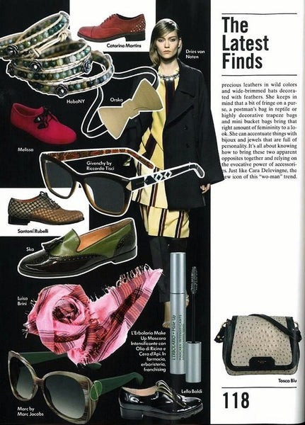 ORSKA jewellery in Vogue Accessory Italy