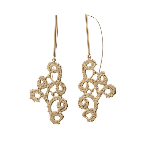 Earrings from Ajour collection - AJK32-1