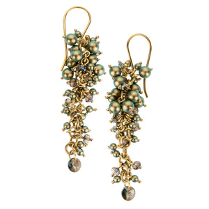 Earrings from Bery collection - BEK42-1