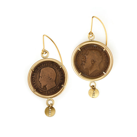 Earrings from Ducats collection - DK34-2