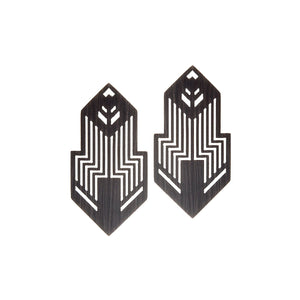 Earrings from Nano collection - NAK24-2