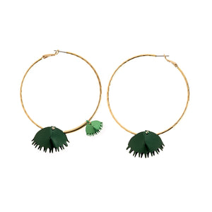 Earrings form Plantis collection - PLK36