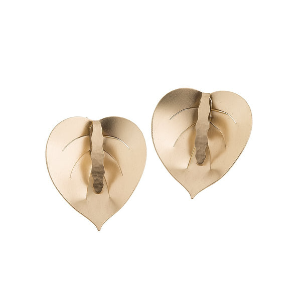 Earrings from Plantis collection - PLK38-1