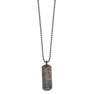 Necklace from Revolt collection - RVN36-7