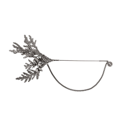 Handmade brooch  from Thuja collection by ORSKA jewelry  TB32-1