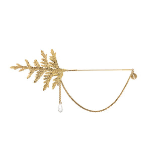 Handmade brooch  from Thuja collection by ORSKA jewelry  TB32-