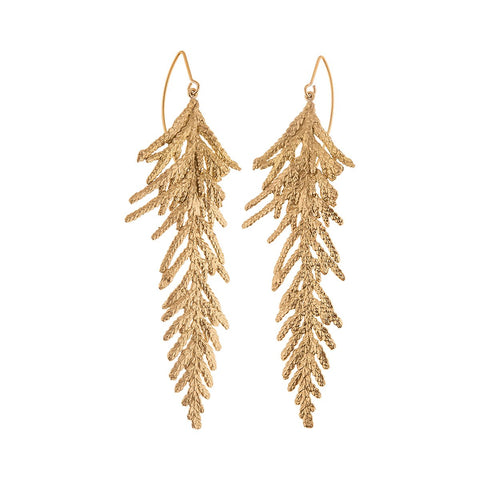 Handmade earrings  from Thuja collection by ORSKA jewelry  TK36